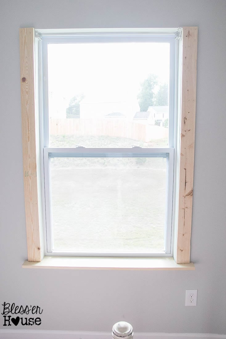 Diy Window Trim The Easy Way