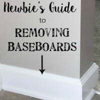 The DIY Newbie's Guide to Removing Baseboards