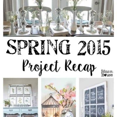 Spring 2015 Project Recap