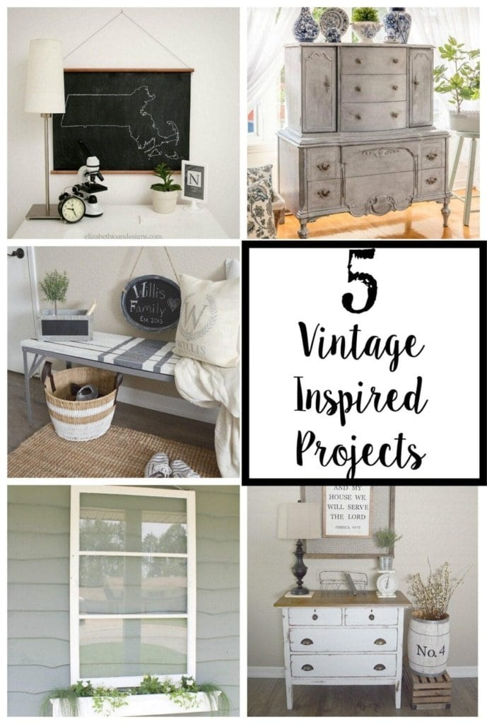 5 Vintage Inspired Projects + YTTS #38 | Bless'er House
