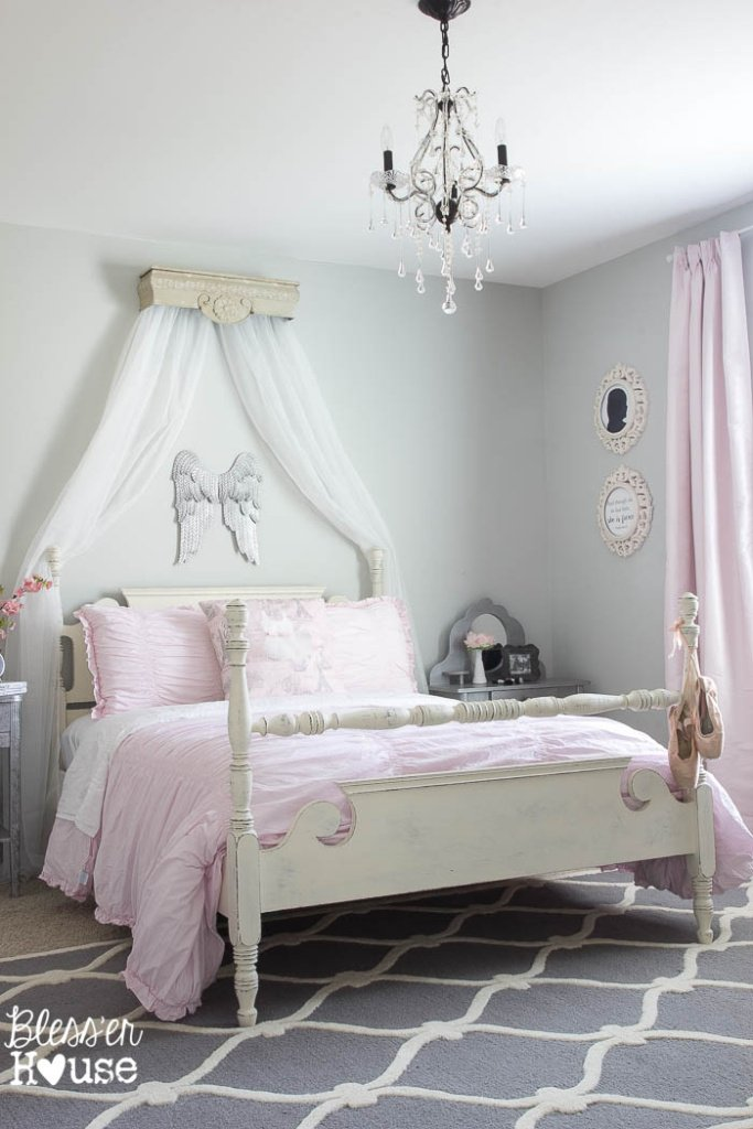 Ballerina Girl Bedroom Makeover Reveal