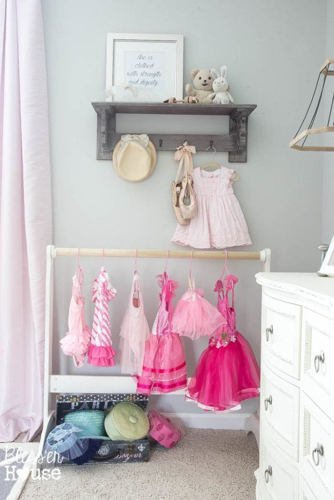 High Quality Ballerina Girl Bedroom Makeover Reveal | Blessu0027er House   Such A Sweet  Space On