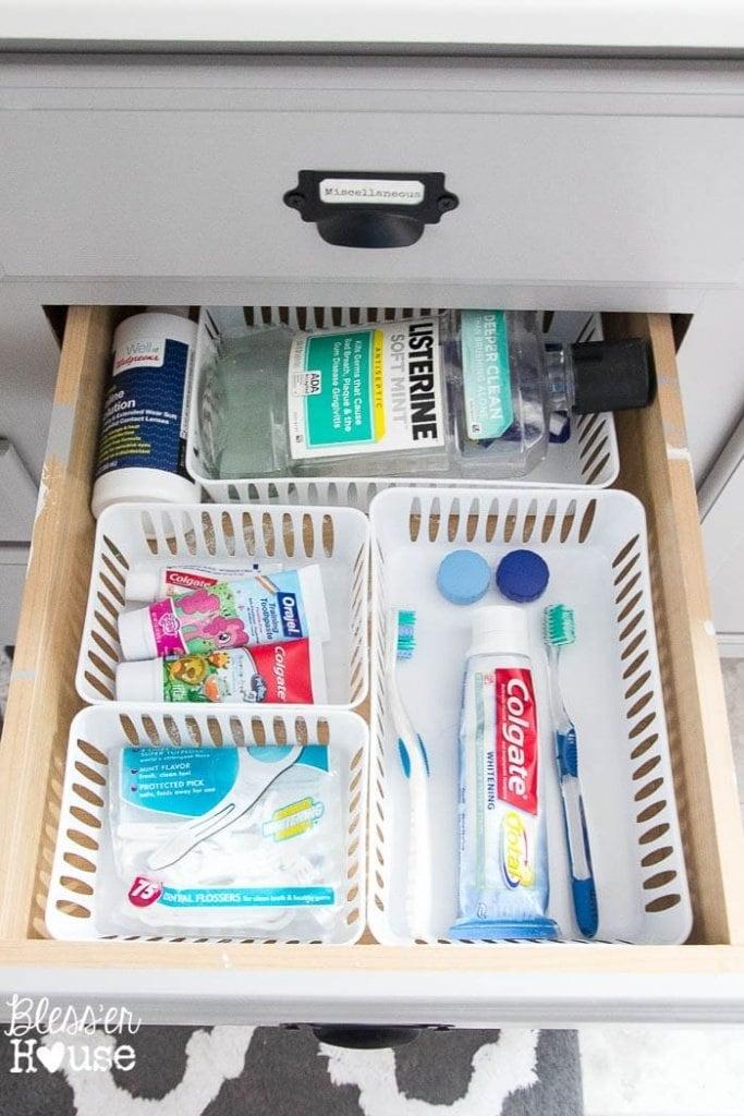Dollar Store Bathroom Drawer Organization (6 of 7)