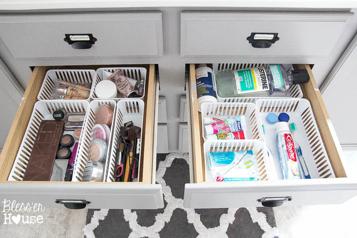 How To Anize Bathroom Drawers
