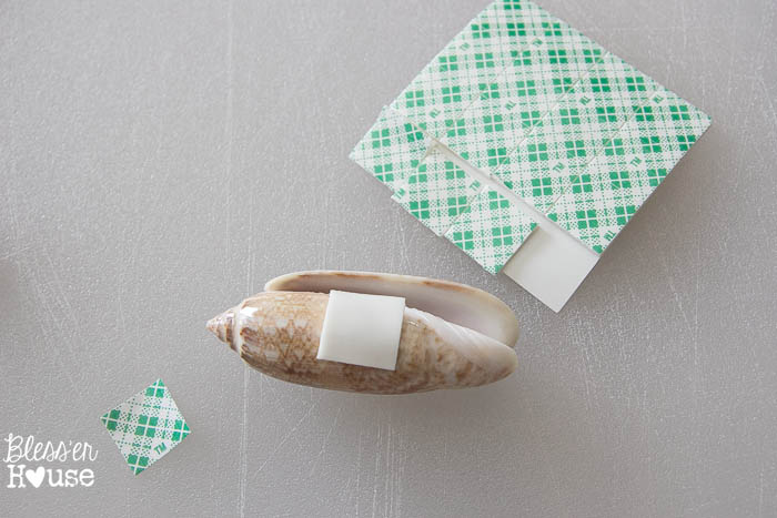 DIY Seashell Printer Tray Shadow Box + Coastal Vignette   Bless'er House
