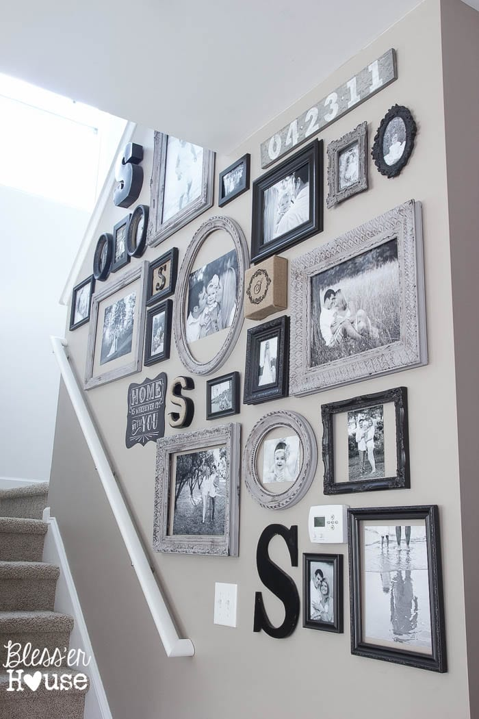 awesome Home Wall Decor Ideas Part - 10: 18 Inexpensive DIY Wall Decor Ideas | blesserhouse.com - So many great wall  decor