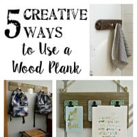 5 Creative Ways to Use a Wood Plank + YTTS #45