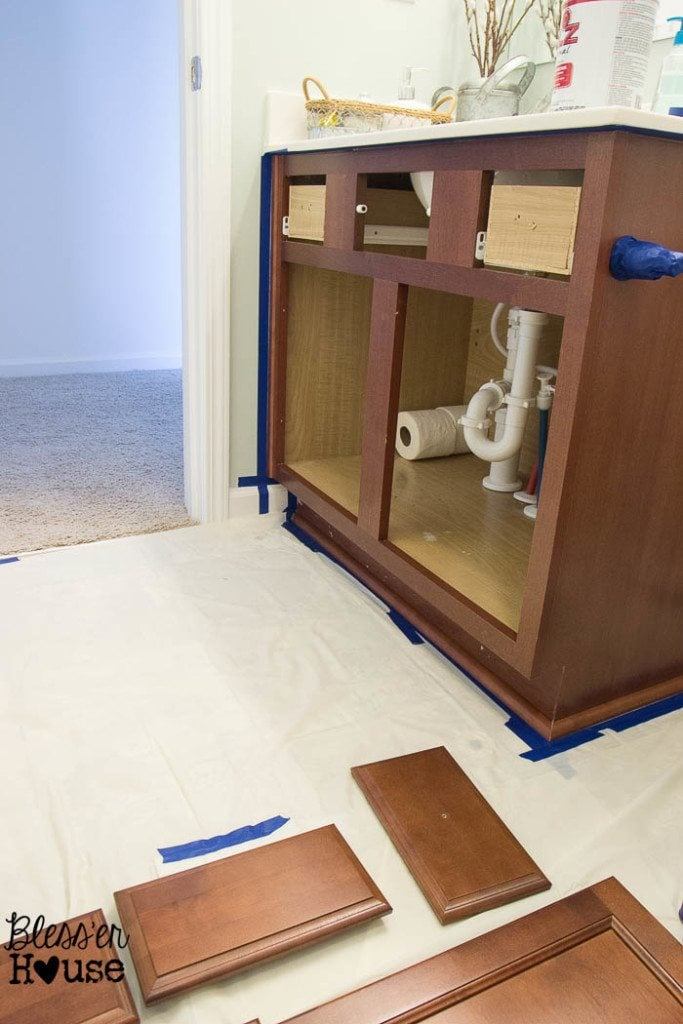Beginner's Guide to Painting Cabinets   Bless'er House