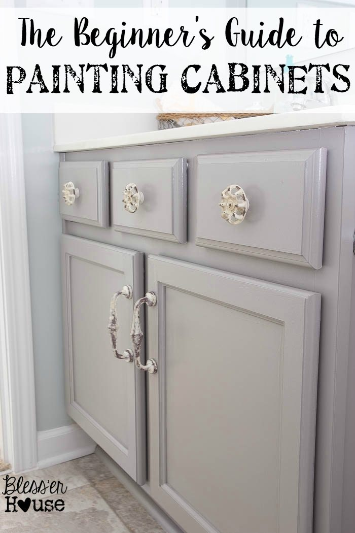 Beginner S Guide To Painting Cabinets Bless Er House