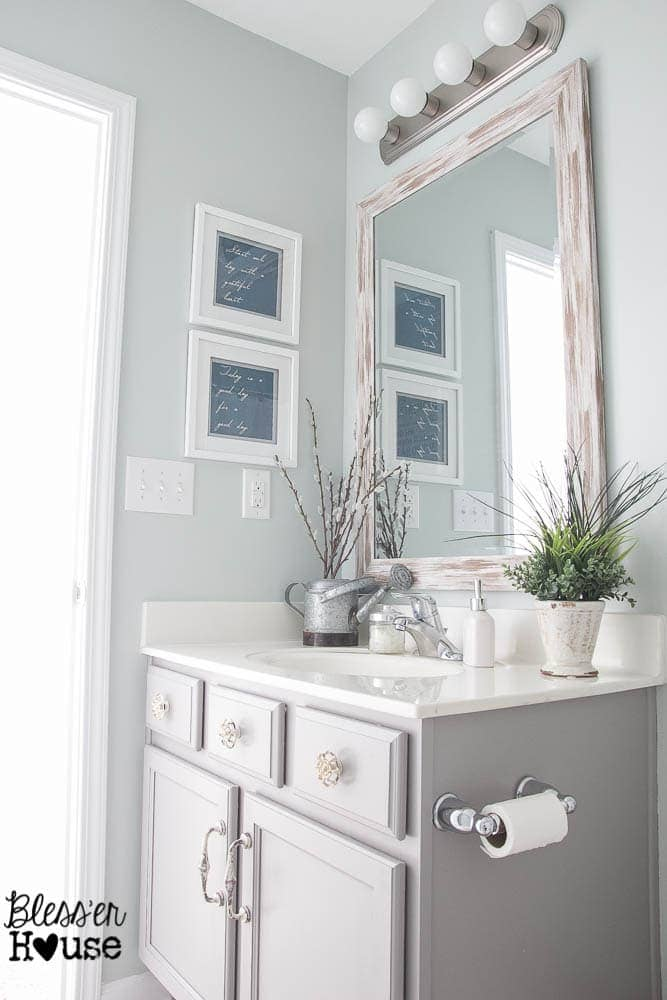 The Cheapest Resource for Bathroom Mirrors (and Bathroom Makeover ...