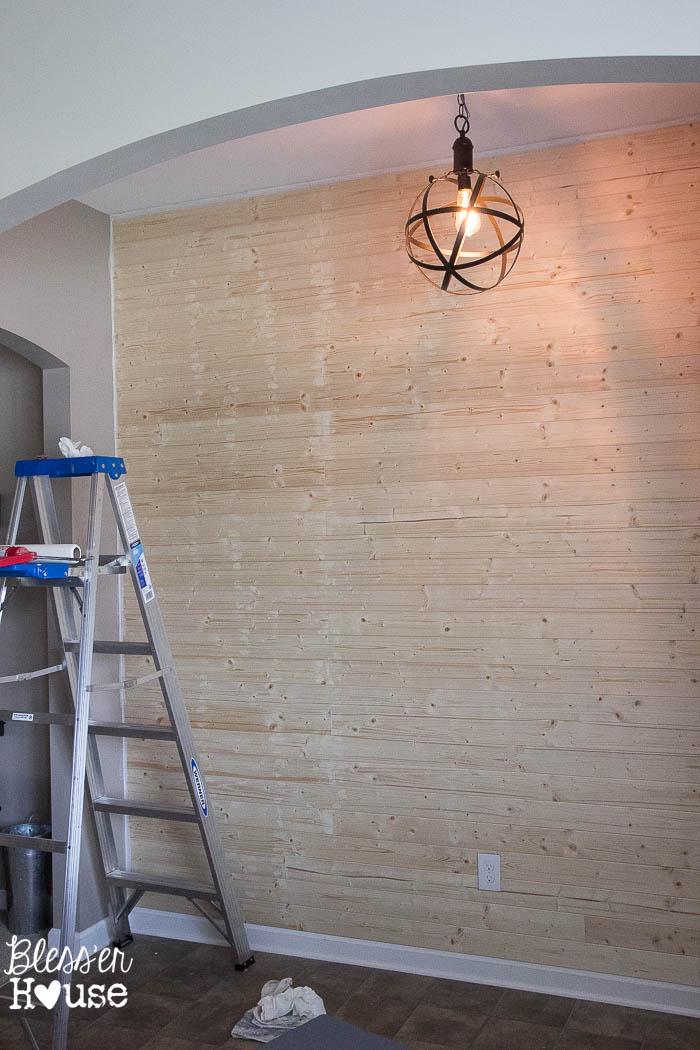 Mens Bedroom Accent Wall