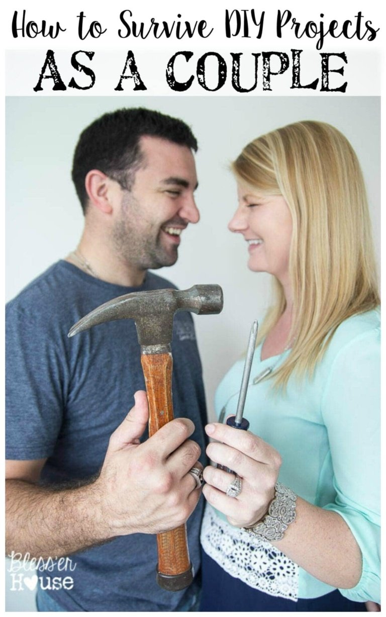 How to Survive DIY Projects as a Couple