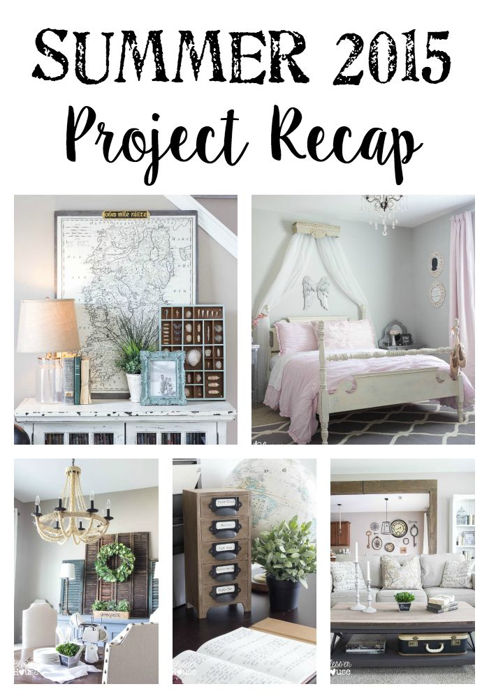Summer 2015 Project Recap | Bless'er House