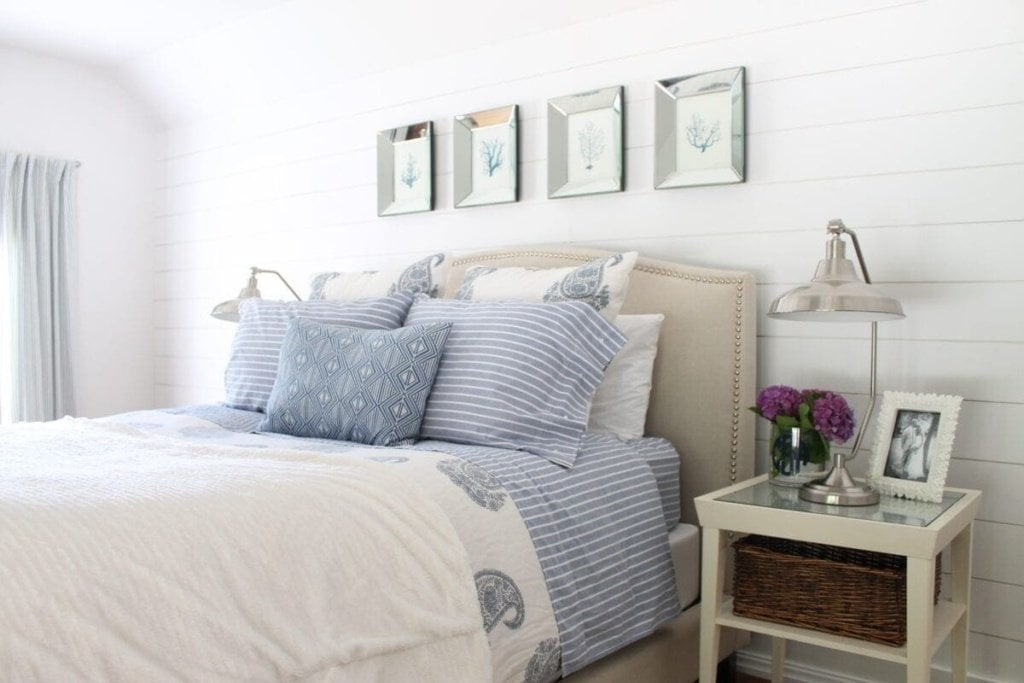 Fave Space Friday - The Picket Fence Projects Master Bedroom Tour   Bless'er House