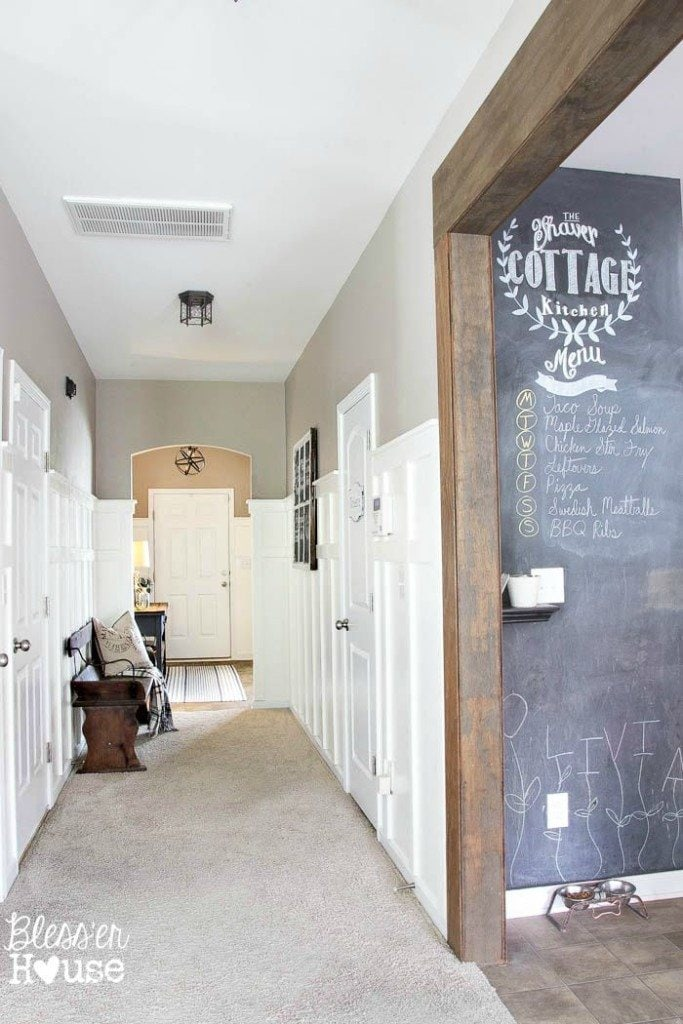 DIY Board and Batten for Under $100 | Bless'er House