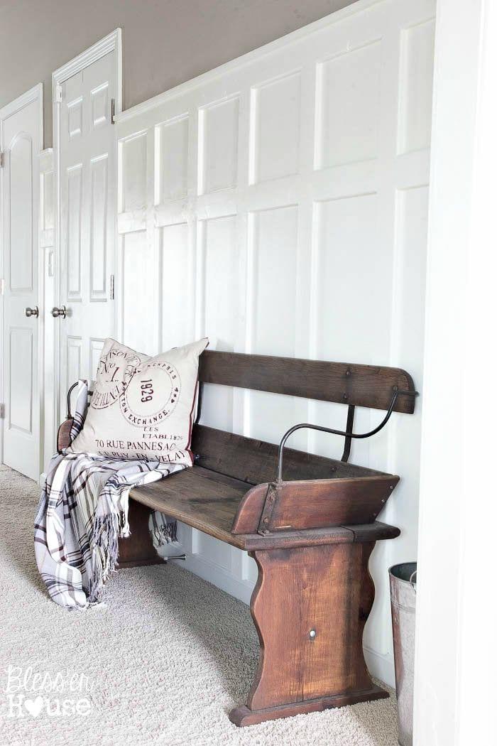 Plain Front Door Makeover