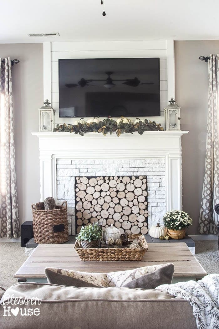 DIY Faux Fireplace for Under $600 – The Big Reveal