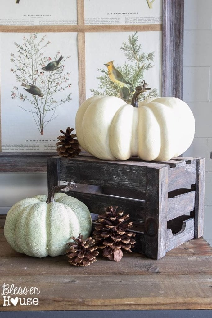 how to decorate for fall on a budget. Black Bedroom Furniture Sets. Home Design Ideas
