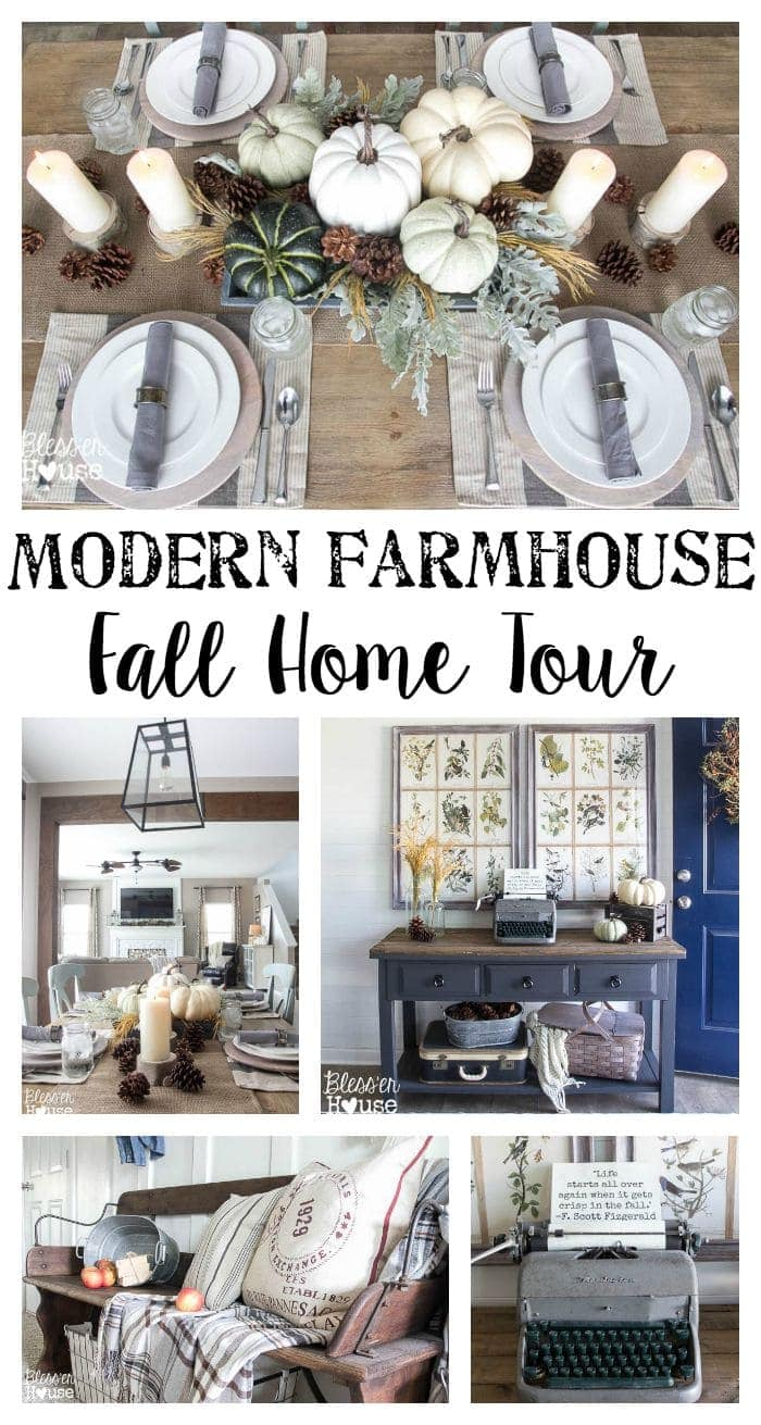 The best fall decor on a budget bless 39 er house for Modern fall home decor