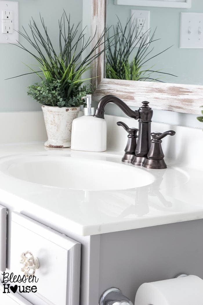 Upgrading a Bathroom Faucet