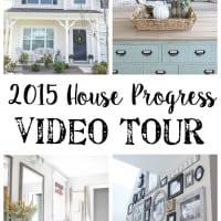 2015 House Progress Video Tour