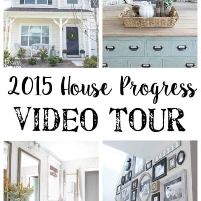 2015 House Progress Video Tour