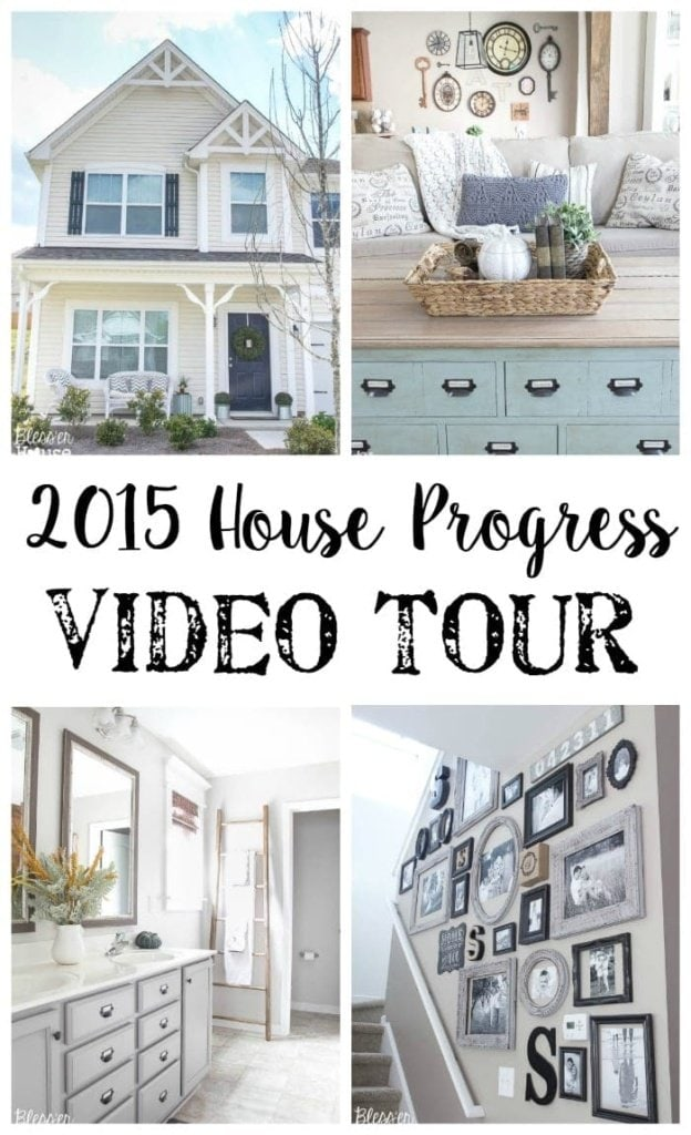 2015 House Progress Video Tour | Bless'er House