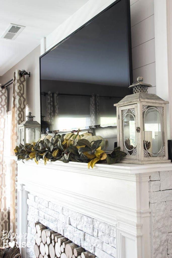 Decorating Around a TV | blesserhouse.com