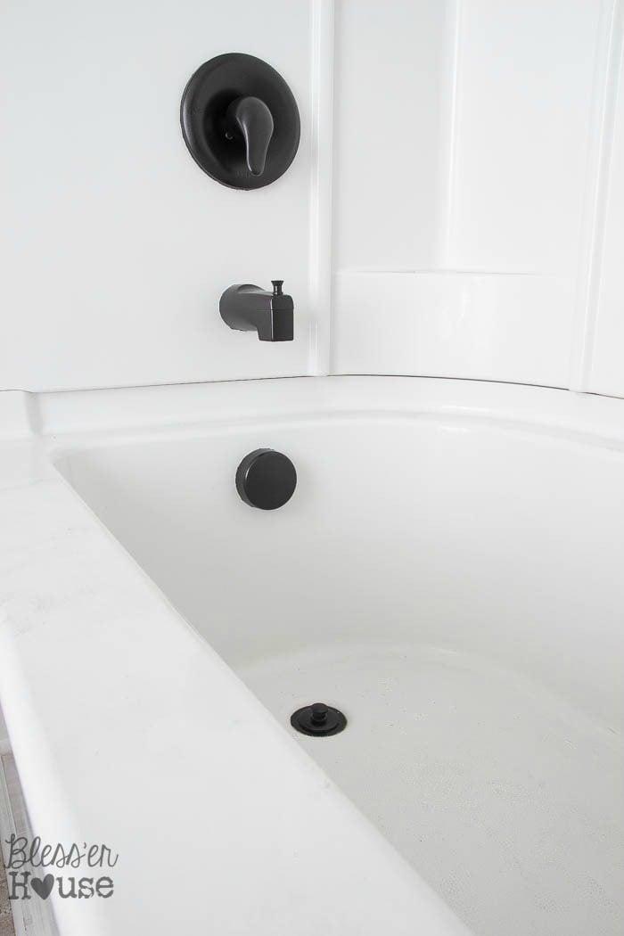 How To Spray Paint Shower Fixtures Easy Diy Method