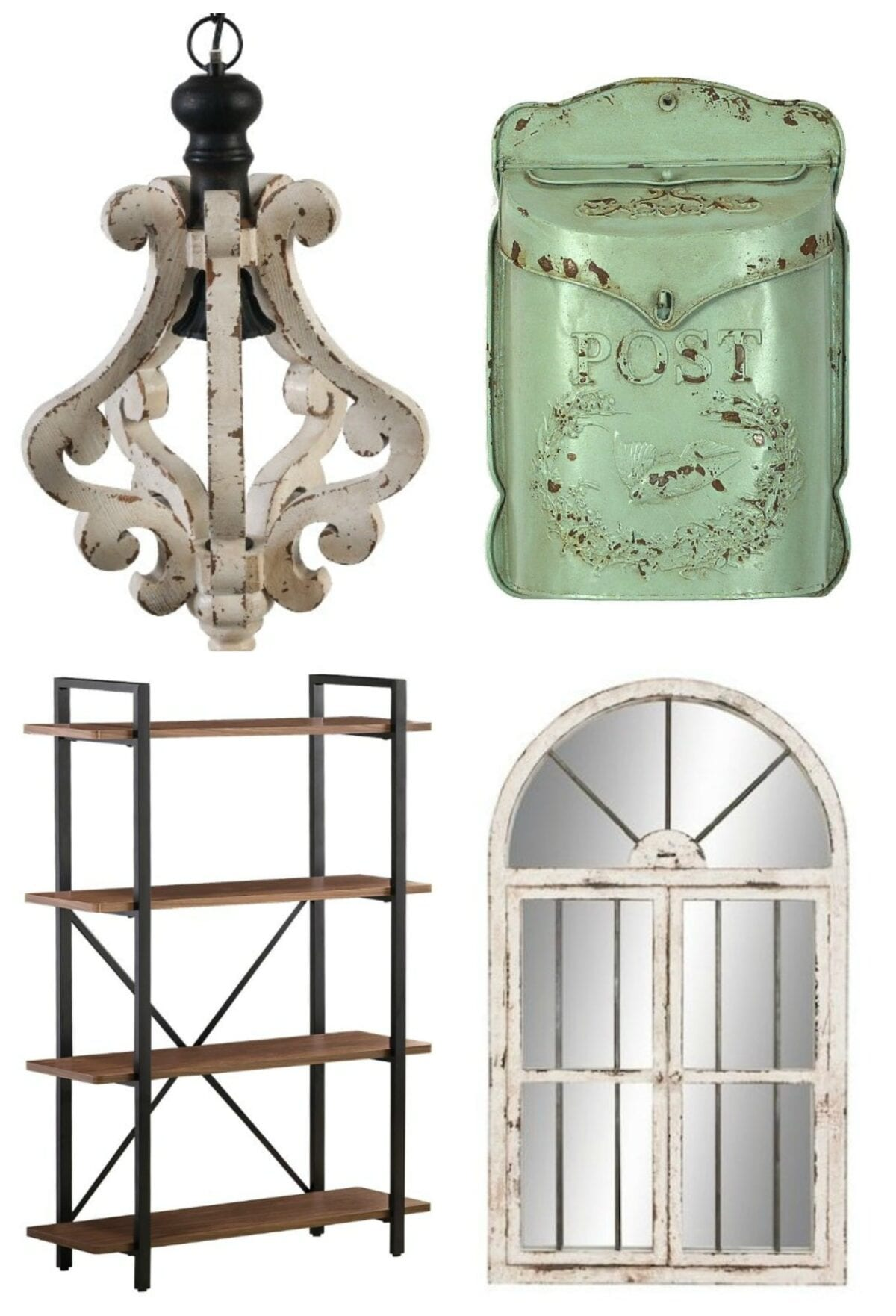Antique Farmhouse Wall Sconces : Where to Buy Affordable Industrial Farmhouse Decor - Bless'er House