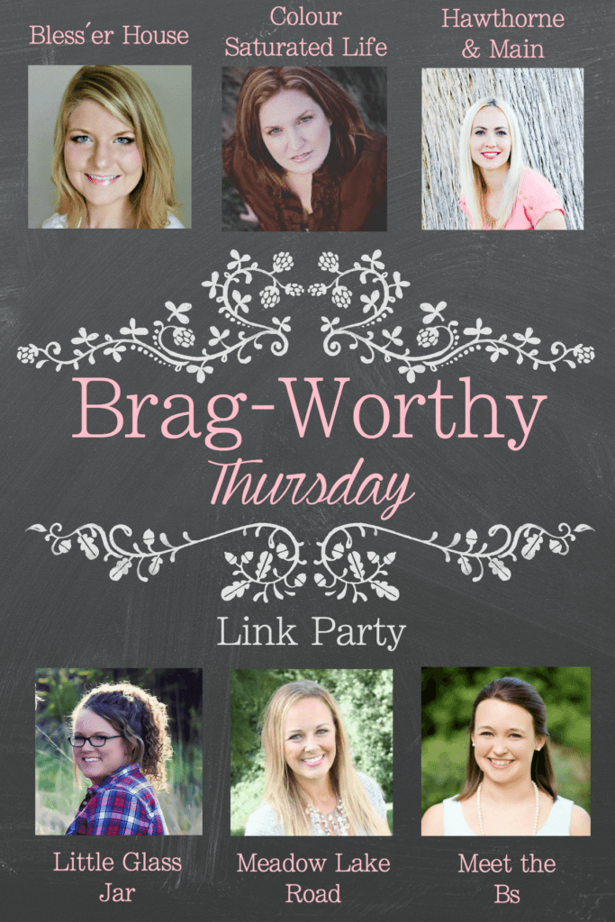 Brag-Worthy Thursday Link Party