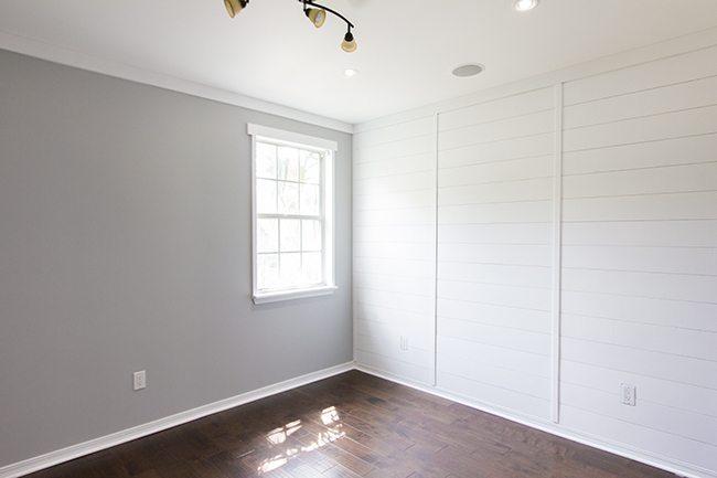 Modern Rustic Master Bedroom Design Plan | www.blesserhouse.com | plank wall