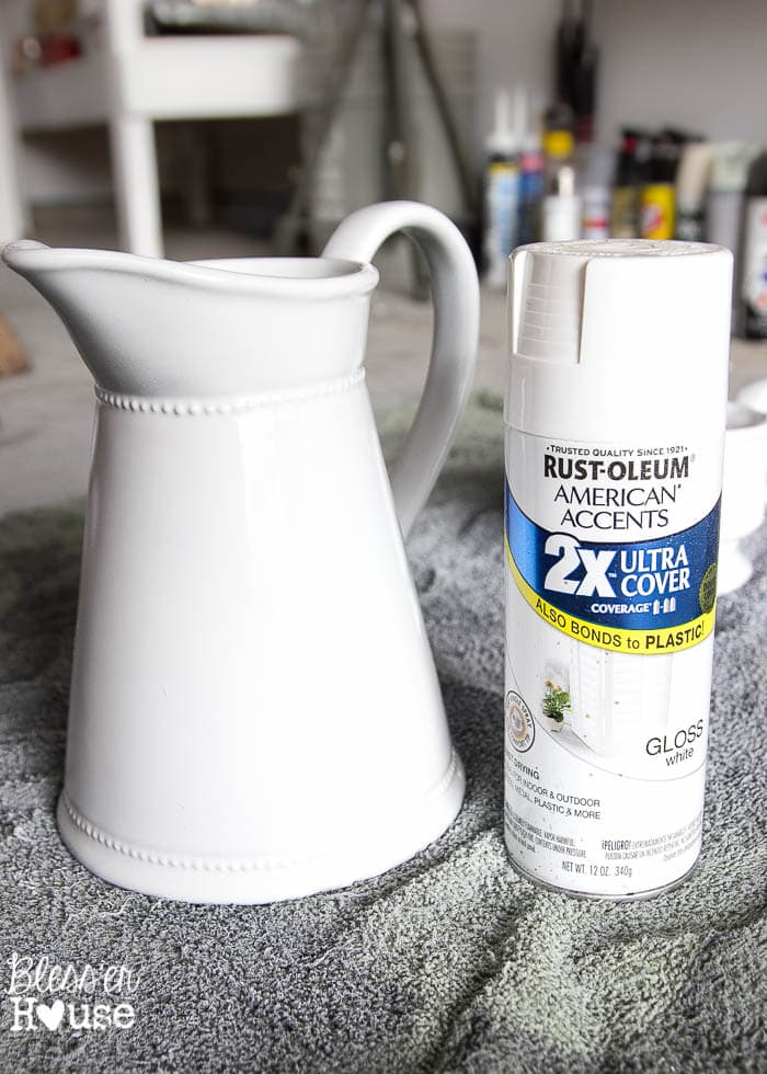 How To Fake Ironstone From Thrift Store Finds