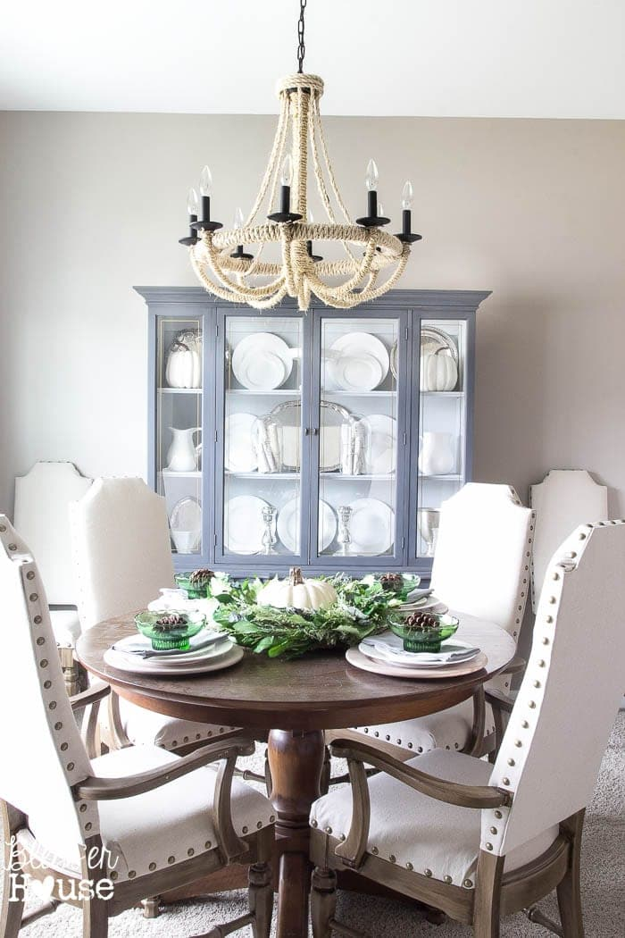 French Provincial China Cabinet Makeover In 2 Easy Steps