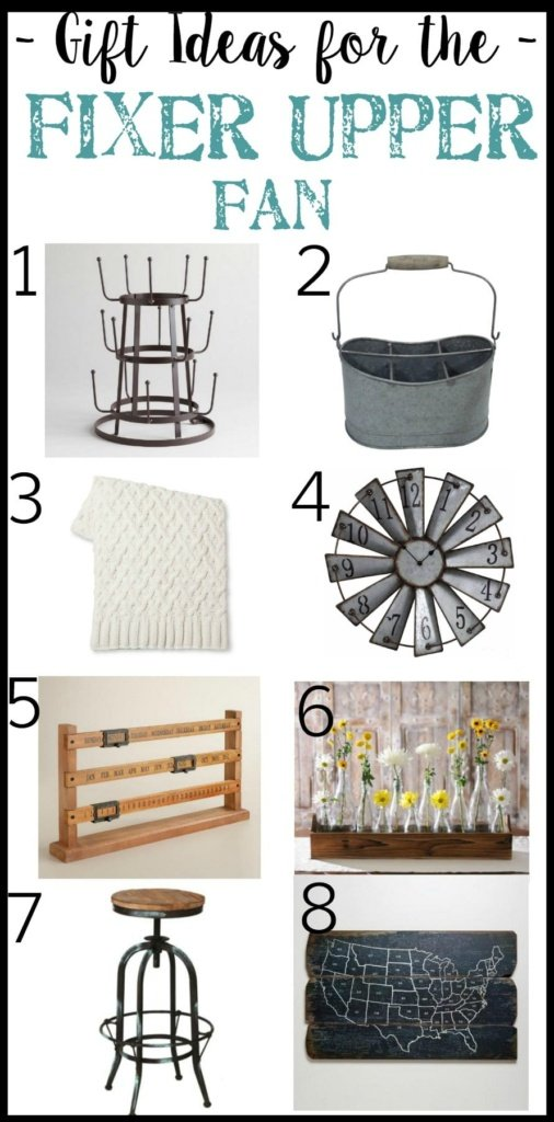 Gift Ideas for the Fixer Upper Fan | Christmas Wish List Gift Guide | blesserhouse.com