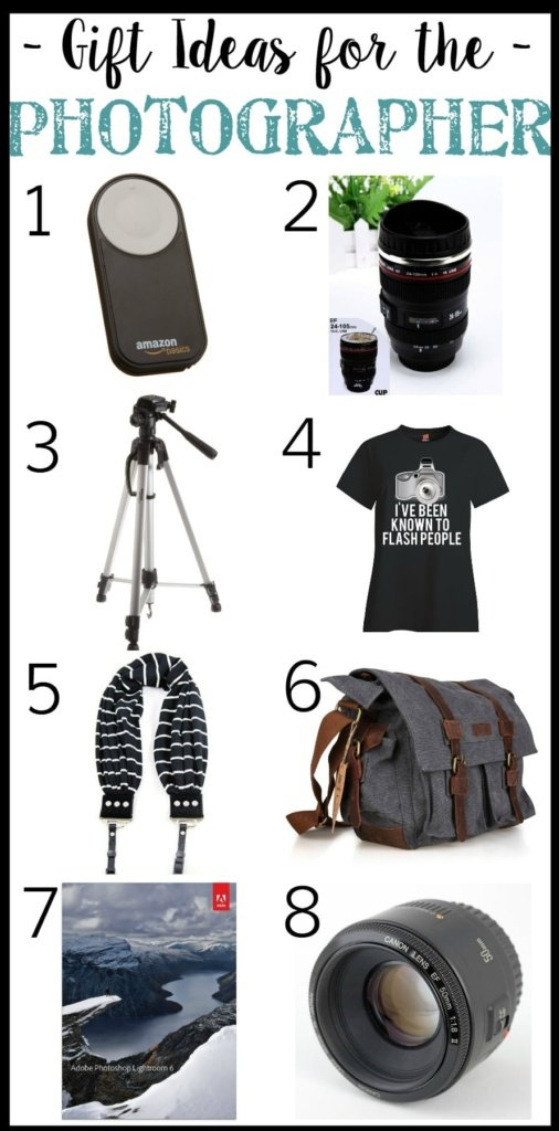 Gift Ideas for the Photographer | Christmas Wish List Gift Guide | blesserhouse.com
