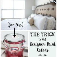The Trick to Get Designer Paint Colors on the Cheap