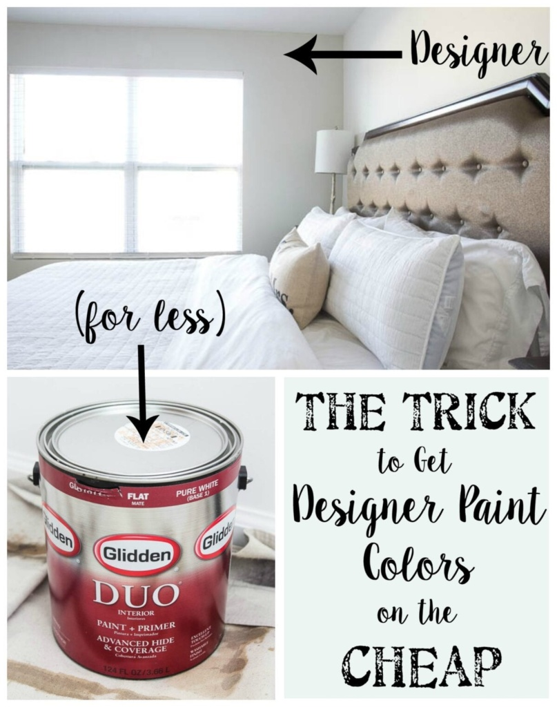 The Trick tо Gеt Designer Paint Colors оn thе Cheap | blesserhouse.com