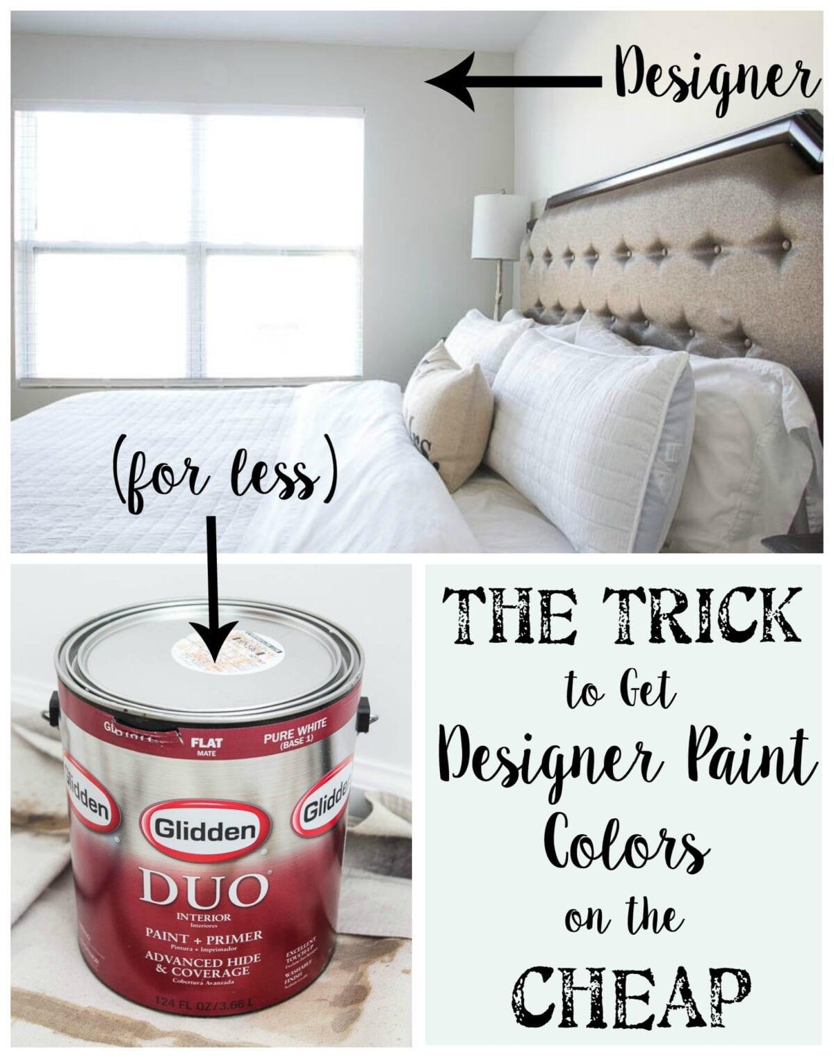 Trick To Get Designer Paint