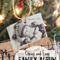 Family Album Christmas Tree – Southern Christmas Cheer Series