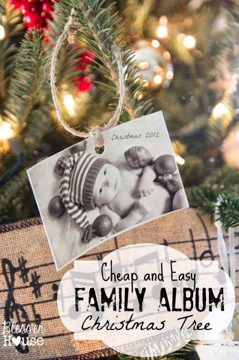 Family Album Christmas Tree – Southern Christmas Cheer Series
