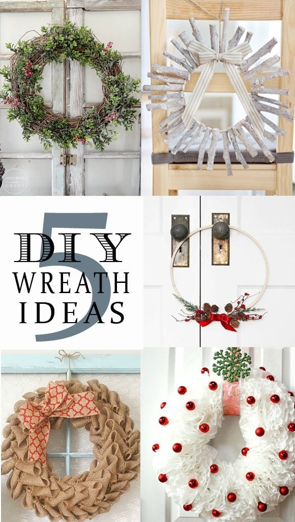 5 DIY Wreath Ideas + BWT #10 | blesserhouse.com