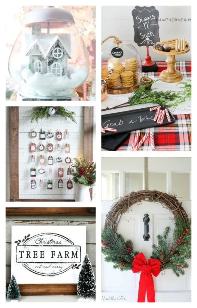 5 Christmas DIY Projects + BWT #9 | blesserhouse.com