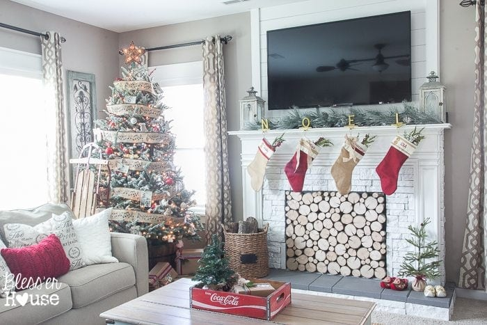 Christmas Home Tour 2015 Part 2 | blesserhouse.com