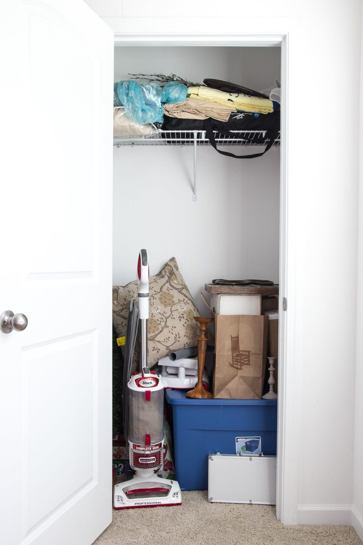 Craft closet storage - How To Organize A Craft Closet Like A Rockstar Blesserhouse Com