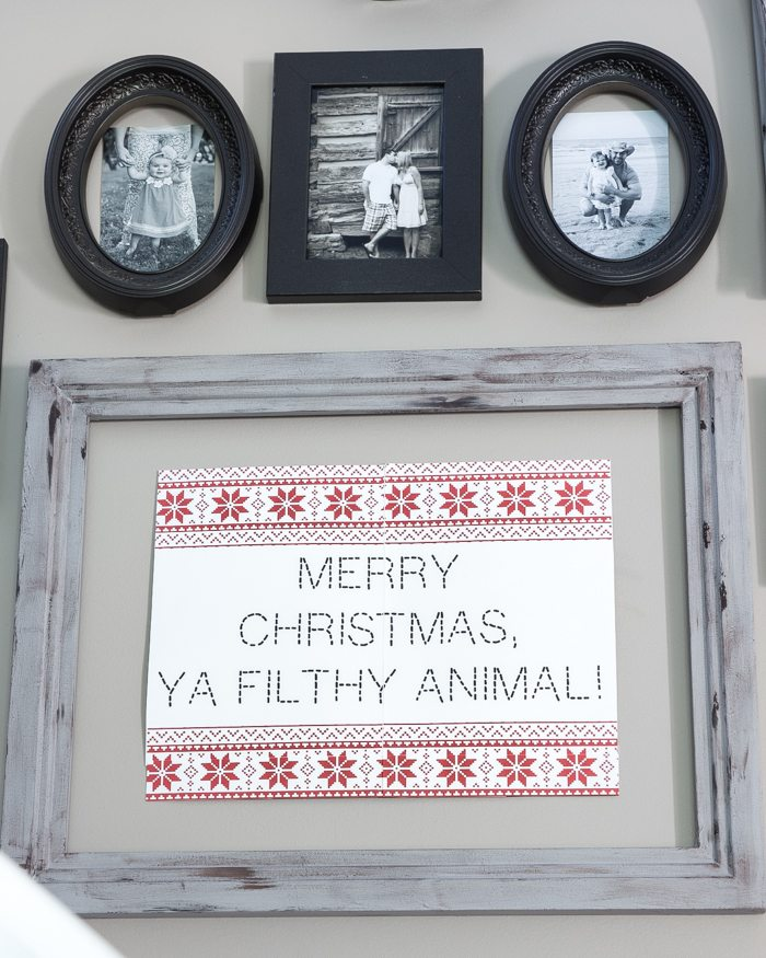 Nordic Christmas Movie Quote Printables   blesserhouse.com - These are too cute!