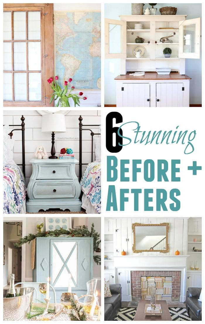 5 Stunning Before and Afters + BWT #7