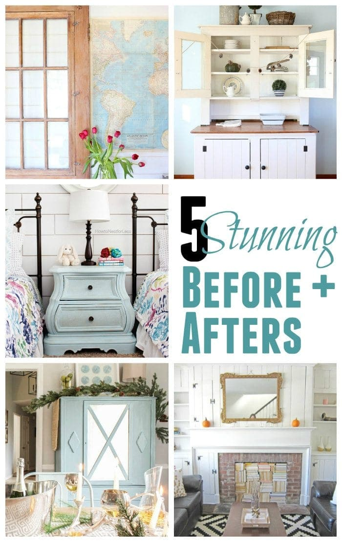5 Stunning Before and Afters | blesserhouse.com