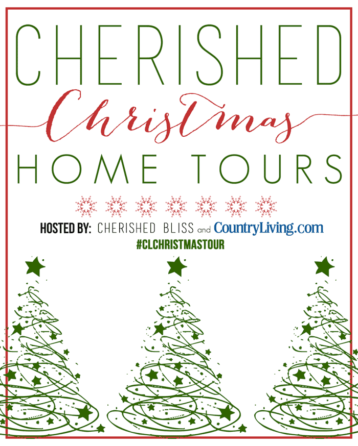 Woodland Christmas Home Tour 2015 Part 1 with Country Living | blesserhouse.com