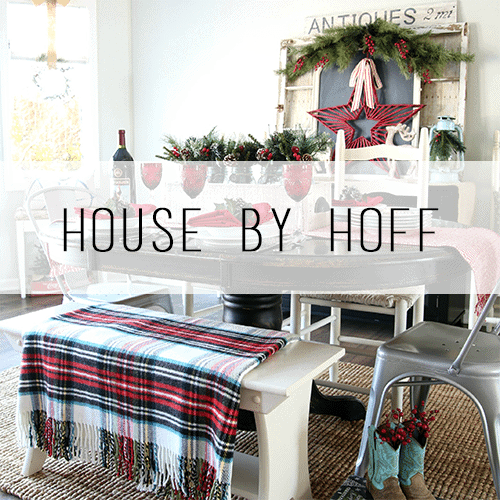 Woodland Christmas Home Tour 2015 Part 1 | blesserhouse.com